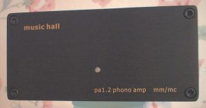 Music Hall PA1.2 phono stage