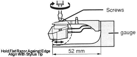 Montaggio e Regolazione Denon dl110 su sl1200 MKII Overhang