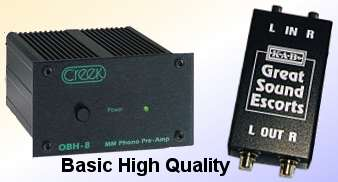 Basic Hi Fi Phono Preamps