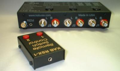 KAB RSX-1 REMOTE ANALOG SWITCH